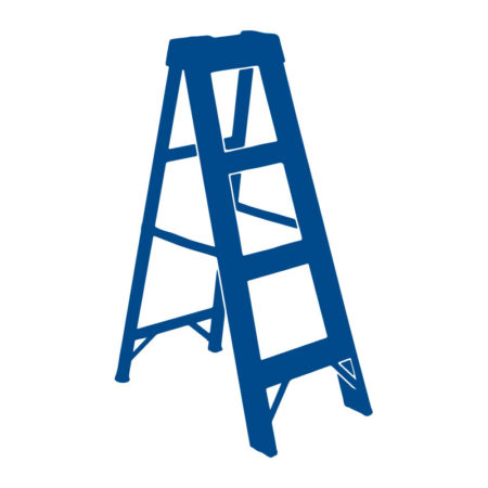 Single Sided A-Frame Ladders